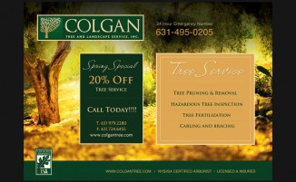 Colgan Tree & Landscaping - Postcard