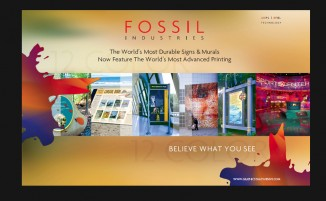 Fossil Industries - Postcard