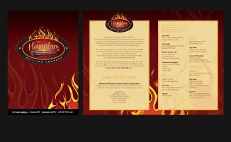 Hamptons Grilling Company - Menu Design