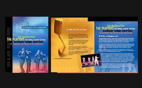 50s & 60s Concert Brochure