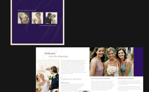 Perfect Wedding Planner Brochure